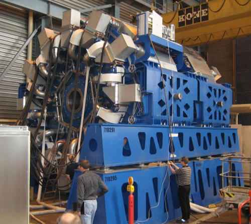 Figure 3: Direct drive permanent magnet generator for 3.5 MW wind turbine. Courtesy of The Switch (2008).